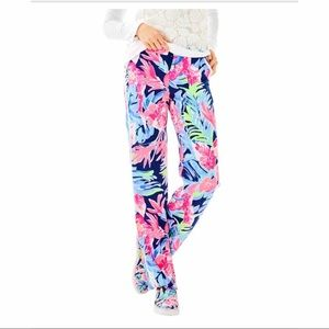 """Lilly Pulitzer 33"""" Madeira Pants Hide Tide Navy"""